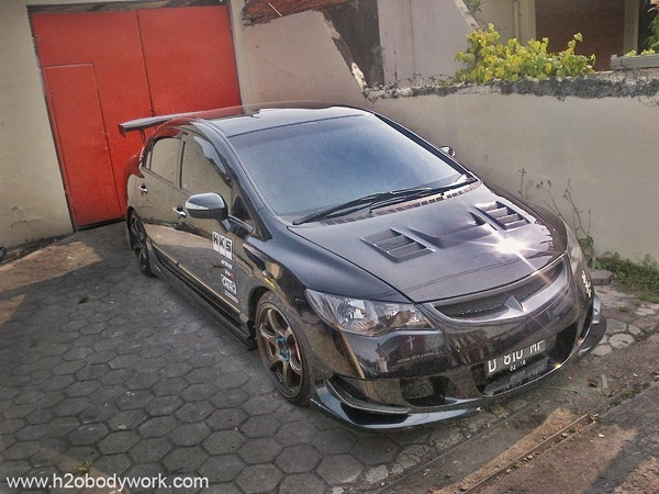modifikasi honda civic FD1