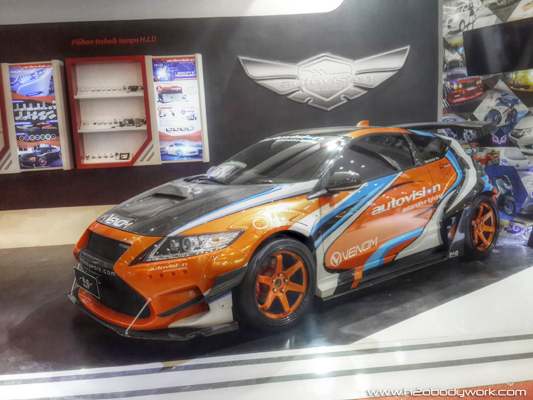 Modifikasi Honda CRZ - 1
