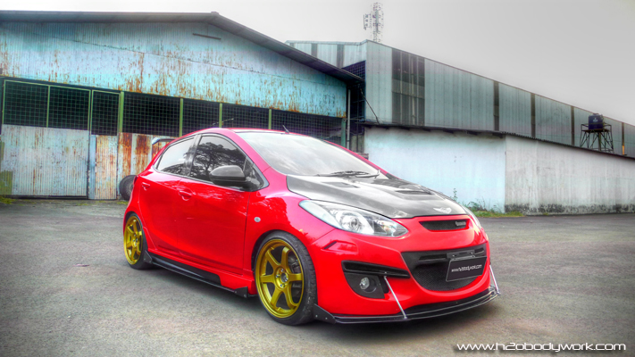 Modifikasi Mazda2