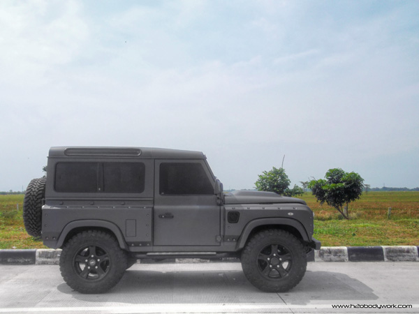 Land Rover Defender Modified