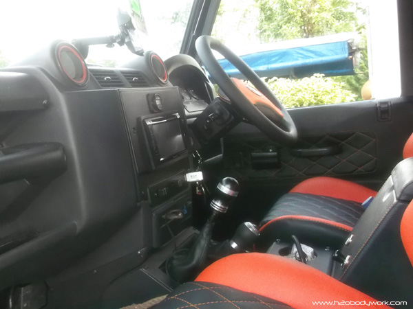 Interior Land Rover