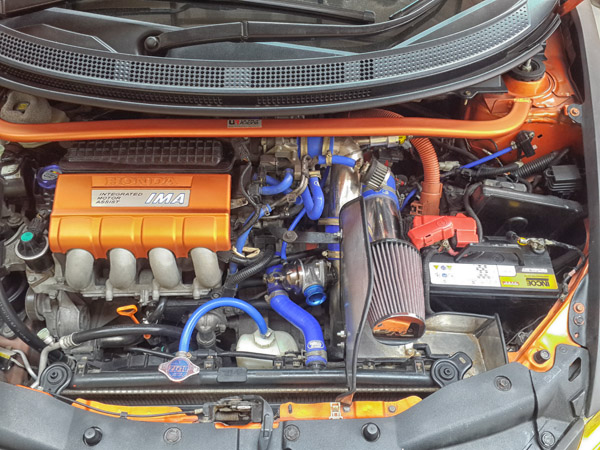Engine Compartment Honda CR-Z